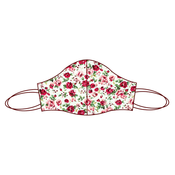 Floral inspired Fabric Face Mask | Rose 6