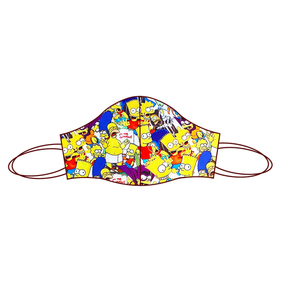 Simpsons inspired Fabric Face Mask | Simpsons 1