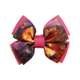 Aurora inspired Hair Bow | Ribbon | Boutique Bow | Layered Bow | Sleeping Beauty inspired Hair Clip
