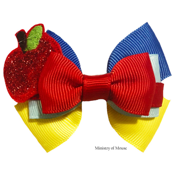 Snow-White-inspired-Character-Hair-Bow-|-Swap-your-Bow-Ears-|-MagicBand-Bow-|-Headband-|-Sequin-Mouse-Ears-|-Snow-White-and-the-seven-Dwarfs-inspired-Mouse-Ears-|-Ministry-of-Mouse