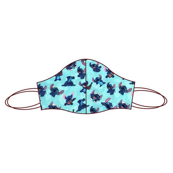 Lilo and Stitch inspired Fabric Face Mask | Stitch Blue