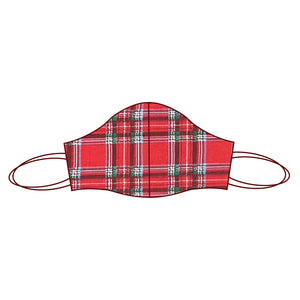 Gingham inspired Fabric Face Mask | Tartan 2