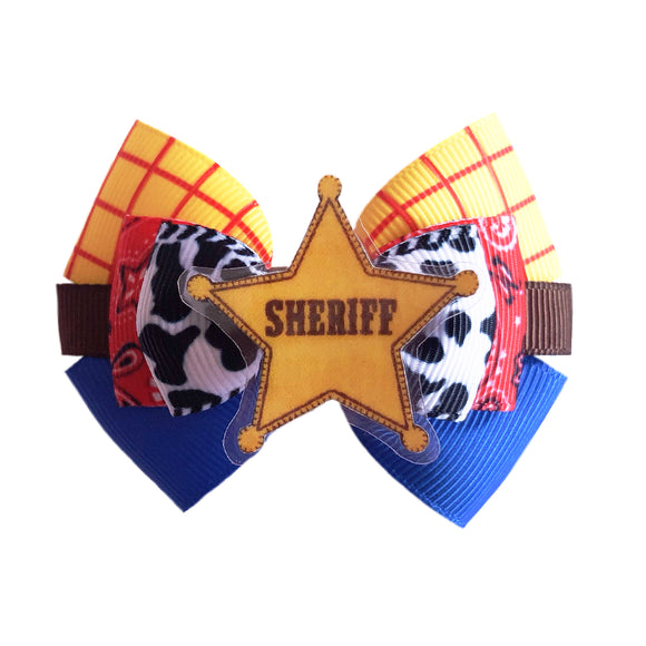 Woody inspired Character Hair Bow | Swap your Bow Ears | Toy Story inspired Mouse Ears