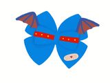 Stuffy inspired Character Hair Bow | Swap your Bow Ears | MagicBand Bow | Doc McStuffins inspired Mouse Ears