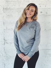 Load image into Gallery viewer, The Dressember Long Sleeve Pima Cotton Crew