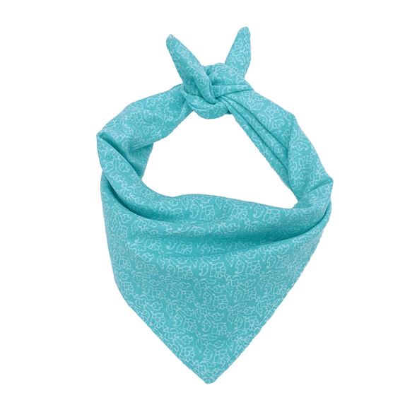 Beach Blue Dog Bandana