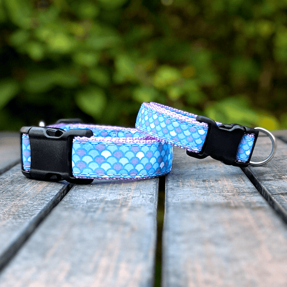 Mermaid Dog Collar