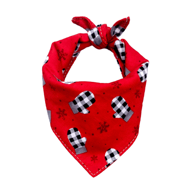 Mitts Dog Bandana