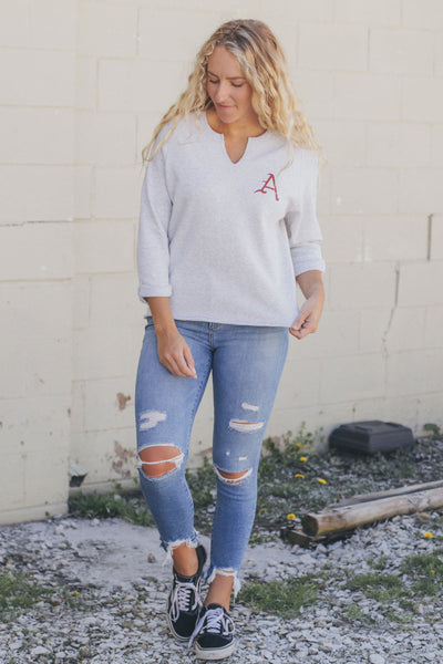 Simple A Sweatshirt