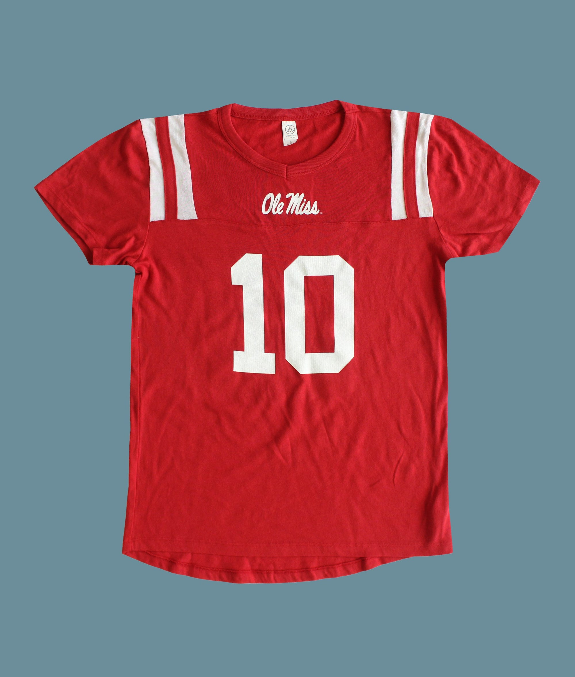 Number 10 Ole Miss Football Jersey