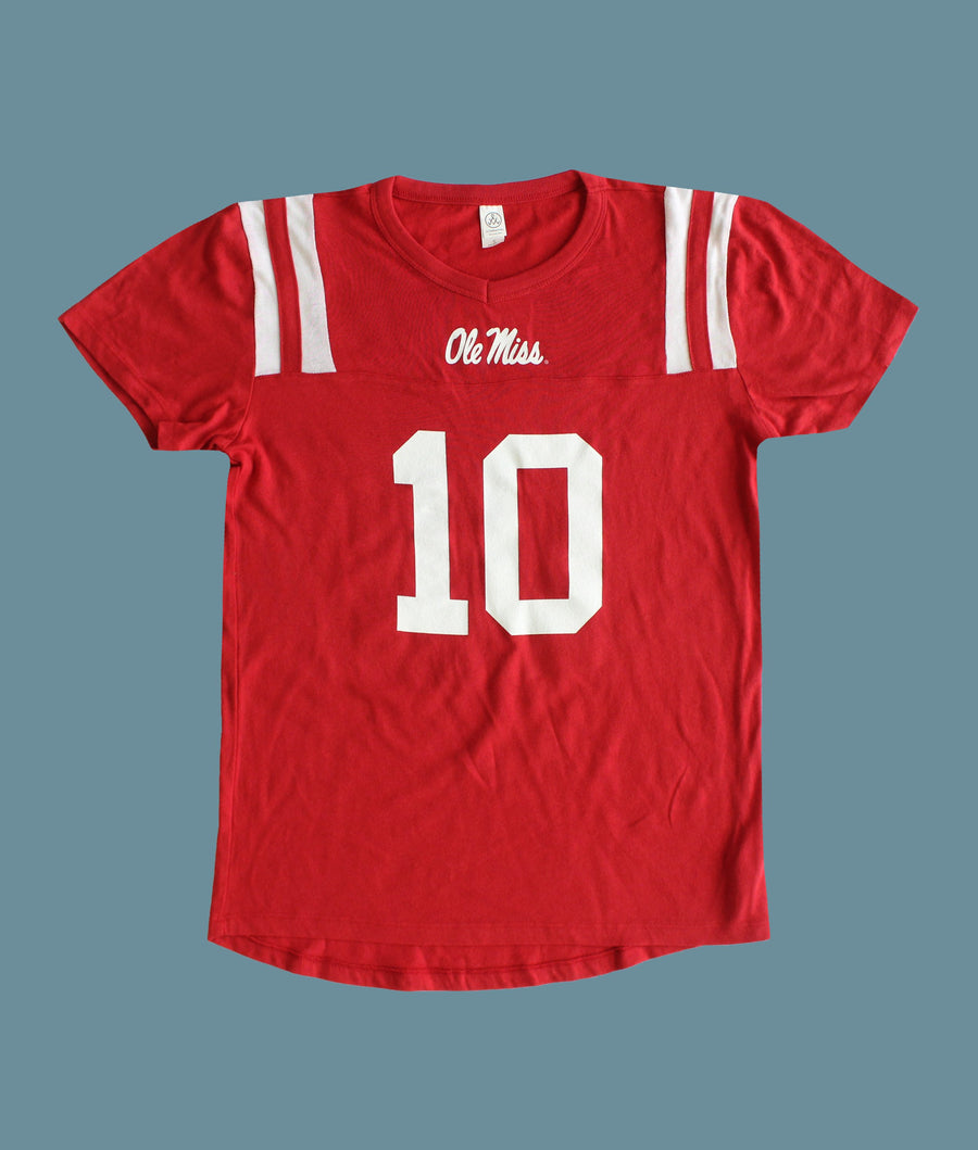 10 Ole Miss Football Jersey