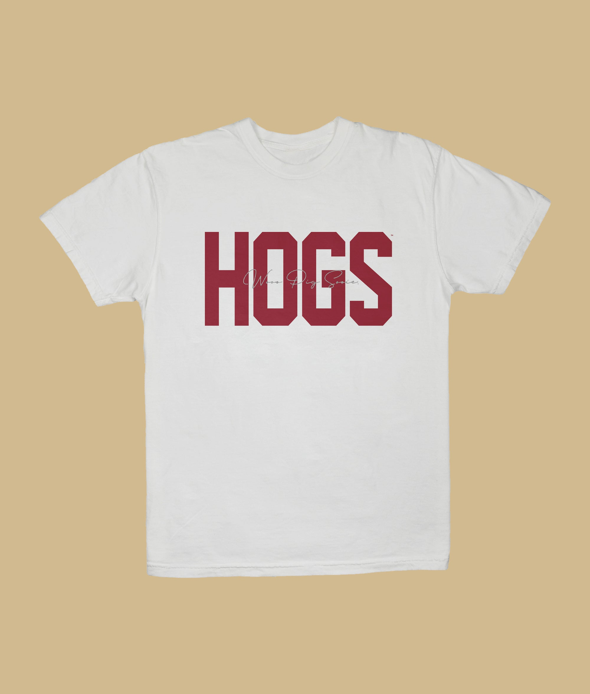 Hogs Embroidered T-Shirt