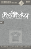 Playstrong Therapy - Logo Shirt (Heather Gray)