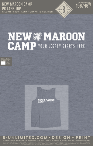 New Maroon Camp - PR Tank Top