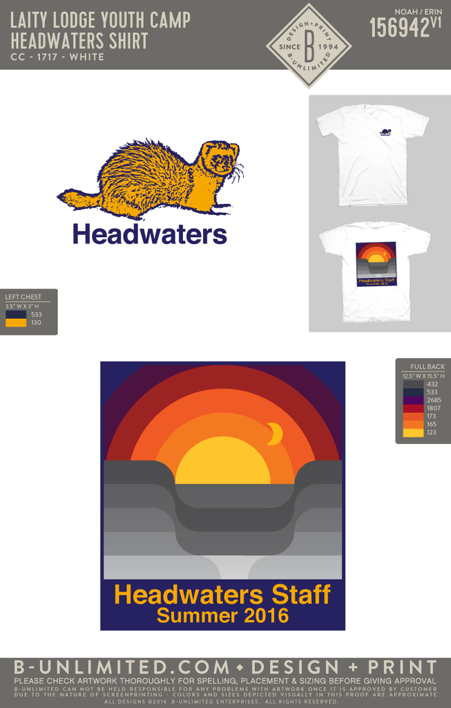 Laity Lodge Youth Camp - Headwaters Shirt