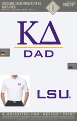 LSU KD - Dad's Polo