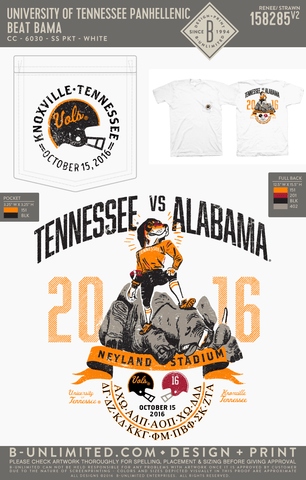Tennessee Panhellenic - Beat Bama