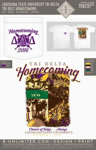 LSU Tri Delta - Tri Delt Homecoming