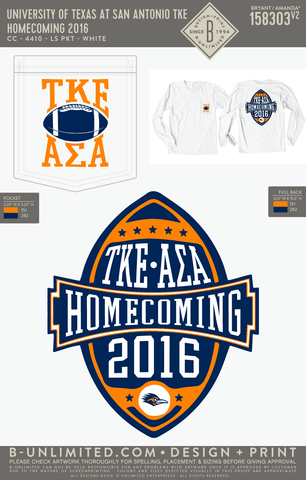 UTSA TKE - Homecoming 2016