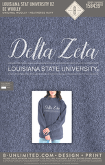 LSU DZ - DZ Woolly (Heathered Navy)