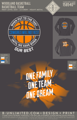 Woodland Basketball - Basketball Team (Long Sleeve)