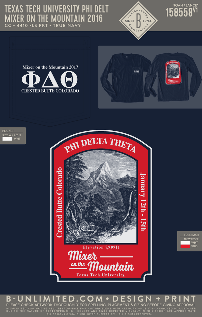 Texas Tech Phi Delt - Mixer on the Mountain 2016