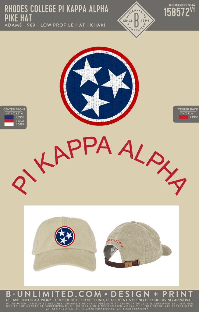 Rhodes Pike - Pike Hat