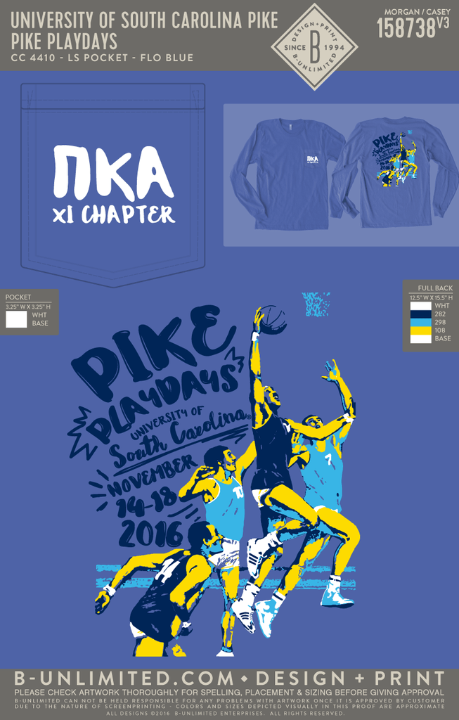 REORDER USC Pike - Pike Playdays (Flo Blue)