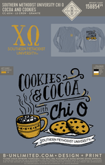 SMU Chi O - Cocoa and Cookies (granite)