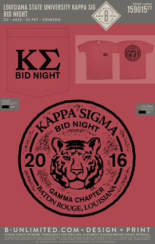 LSU Kappa Sig - Bid Night