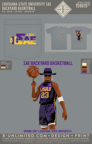 LSU SAE - Backyard Basketball