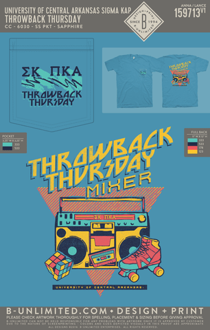 UCA Sigma Kappa - Throwback Thursday