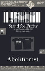 UofA Stand for Purity - Stand For Purity PR (Navy)