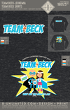 Team Beck - Team Beck Shirts (Adult LS)