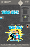 Team Beck - Team Beck Shirts (Youth Crew)