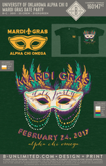 OU AXO - Mardi Gras Date Party (Evergreen)
