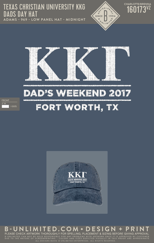 TCU KKG - Dad's Day Hat