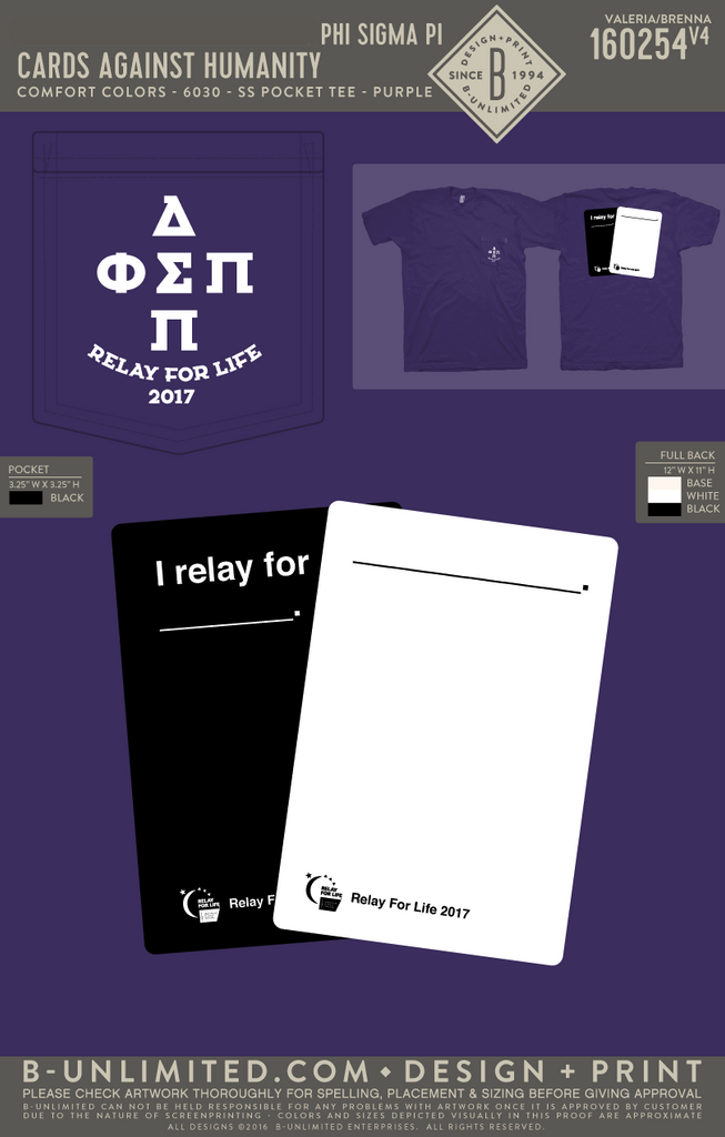 Coastal Carolina University Phi Sigma Pi -Cards Against Humanity