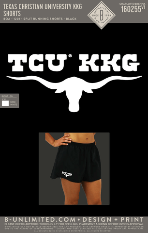 TCU KKG - Shorts (Black)