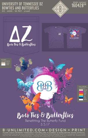 Tennessee DZ - Bowties & Butterflies