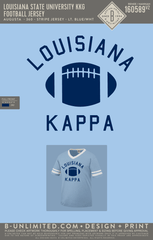 LSU KKG - Football Jersey
