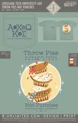 LTU AXO- Throw Pies Not Punches