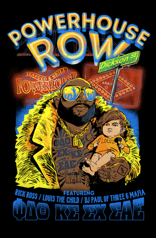 UofA Row Week - Powerhouse Row Poster