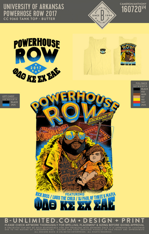 UofA Row Week - Powerhouse Row 2017 (Tank Butter)