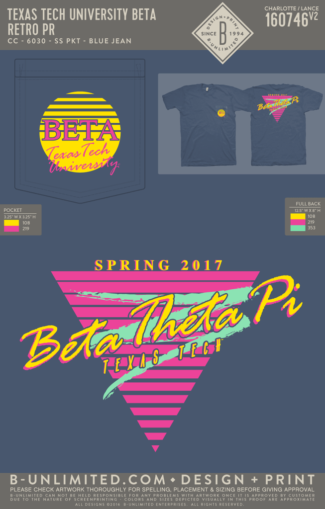 Texas Tech Beta - Retro PR
