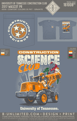 Tennessee Construction Club - 2017 Mascot PR