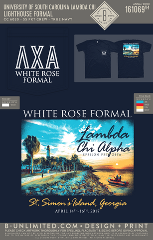 USC Lambda Chi - Lighthouse Formal (SS True Navy)