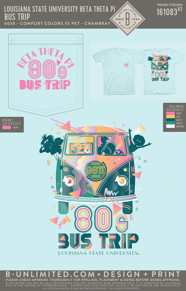 LSU Beta - 80's Bus Trip