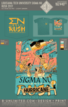 LTU Sigma Nu - Rush 2017 (Light Green)