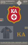 LTU Kappa Alpha - Rush Polo (Charcoal)